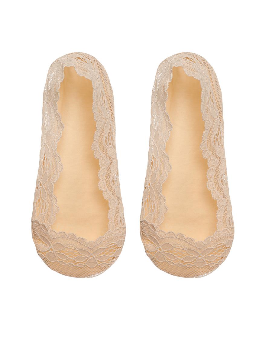 Aimer袜子|爱慕袜子蕾丝船袜AM942711