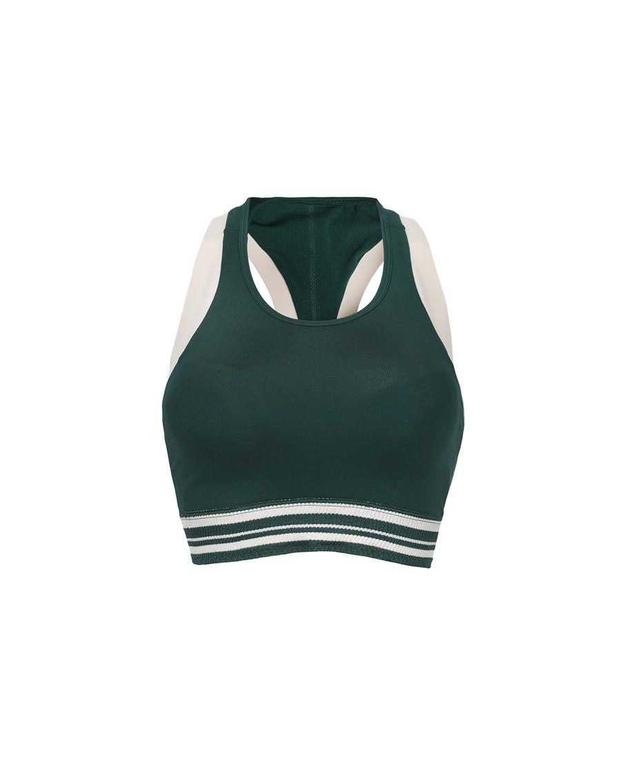 爱慕运动心灵瑜伽II低强度背心式长款文胸AS116G51