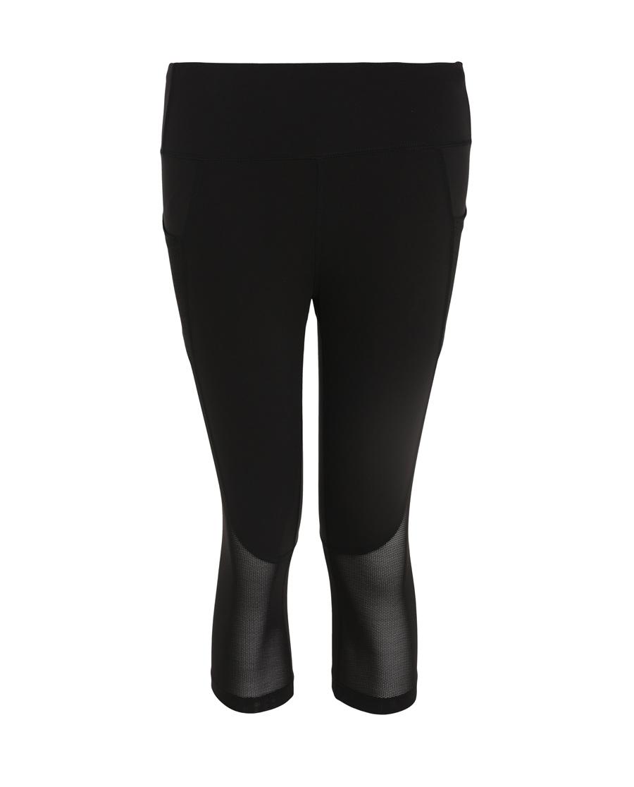 Aimer Sports运动装 爱慕运动都市运动跑步七分裤AS152G21