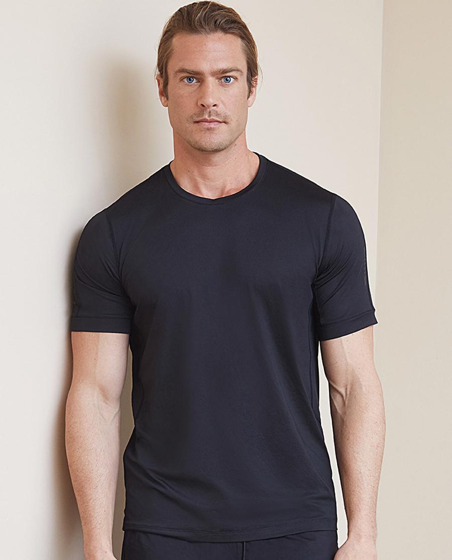 Aimer Men运动装|爱慕先生酷感运动圆领短袖上衣NS62B724