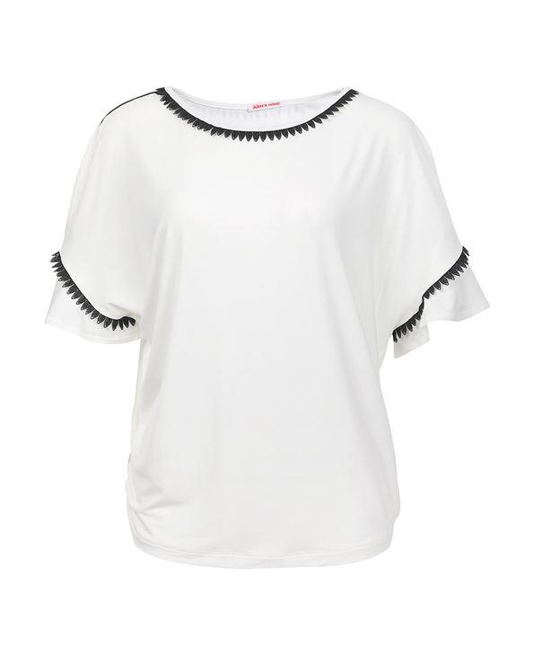 Aimer Home睡衣|爱慕家居柔姿琴享防蚊短袖上衣AH450421