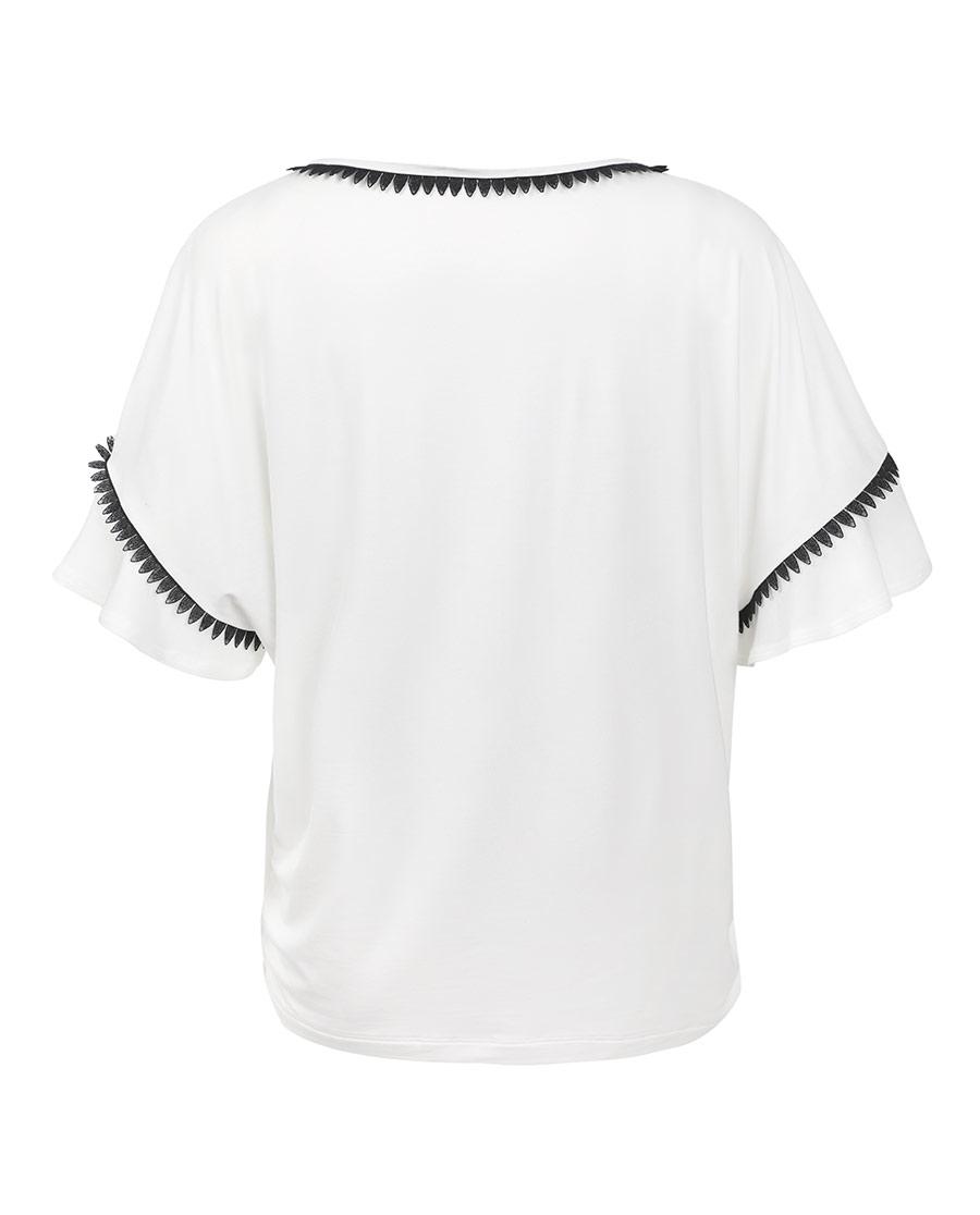 Aimer Home睡衣|愛慕家品柔姿琴享防蚊短袖上衣AH4504