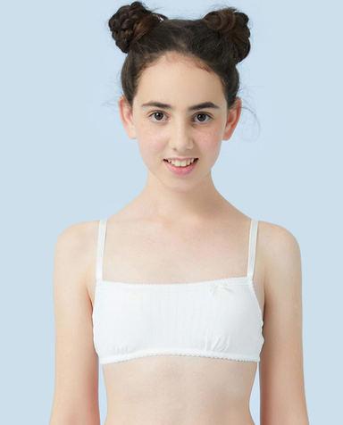 Aimer Junior文胸|爱慕少年蕾丝铃兰二阶段抹胸AJ1150803