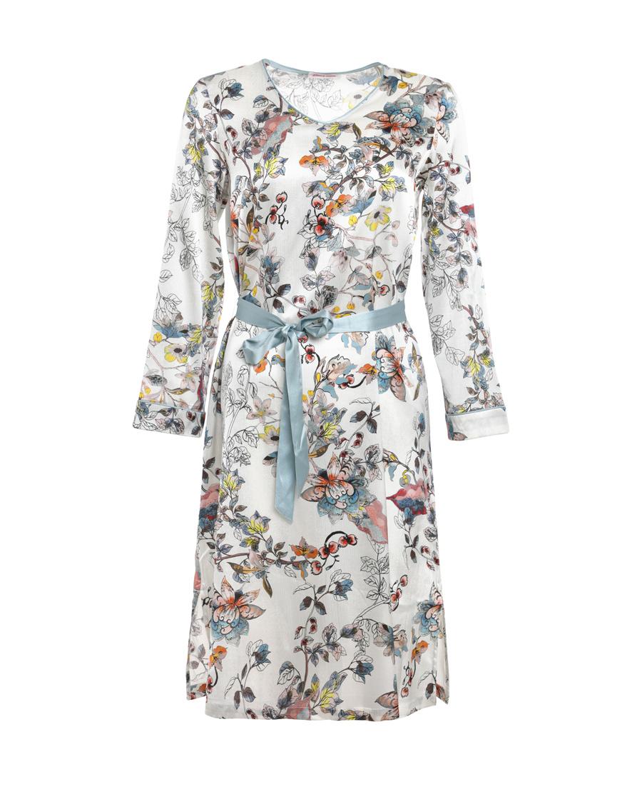 Aimer Home睡衣|爱慕家品悠享年华中长睡裙AH440521