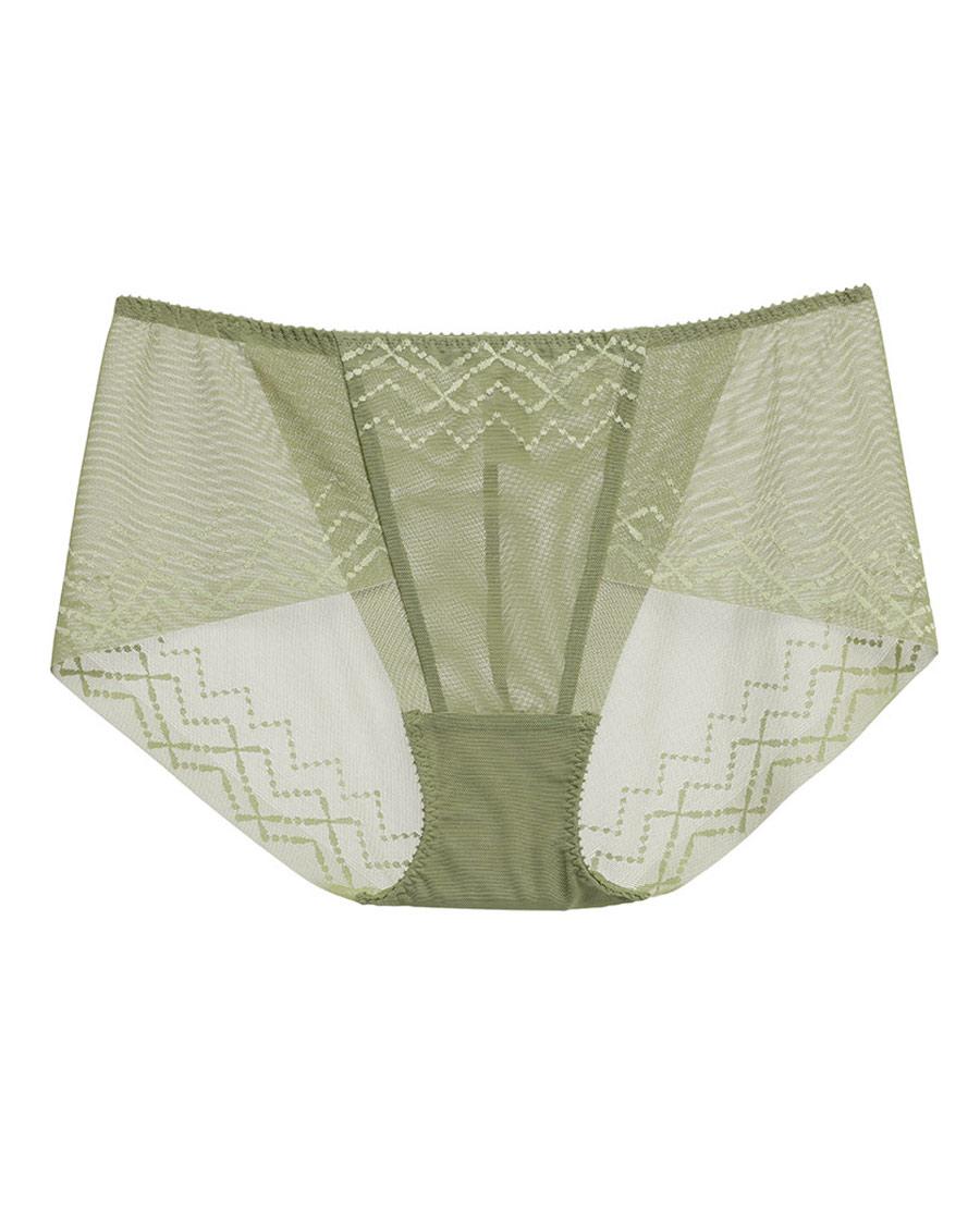 La Clover內褲|LA CLOVER簡單愛系列中腰平角內褲