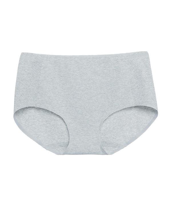 Aimer内裤|爱慕植物染麻无痕中腰平角内裤AM232841