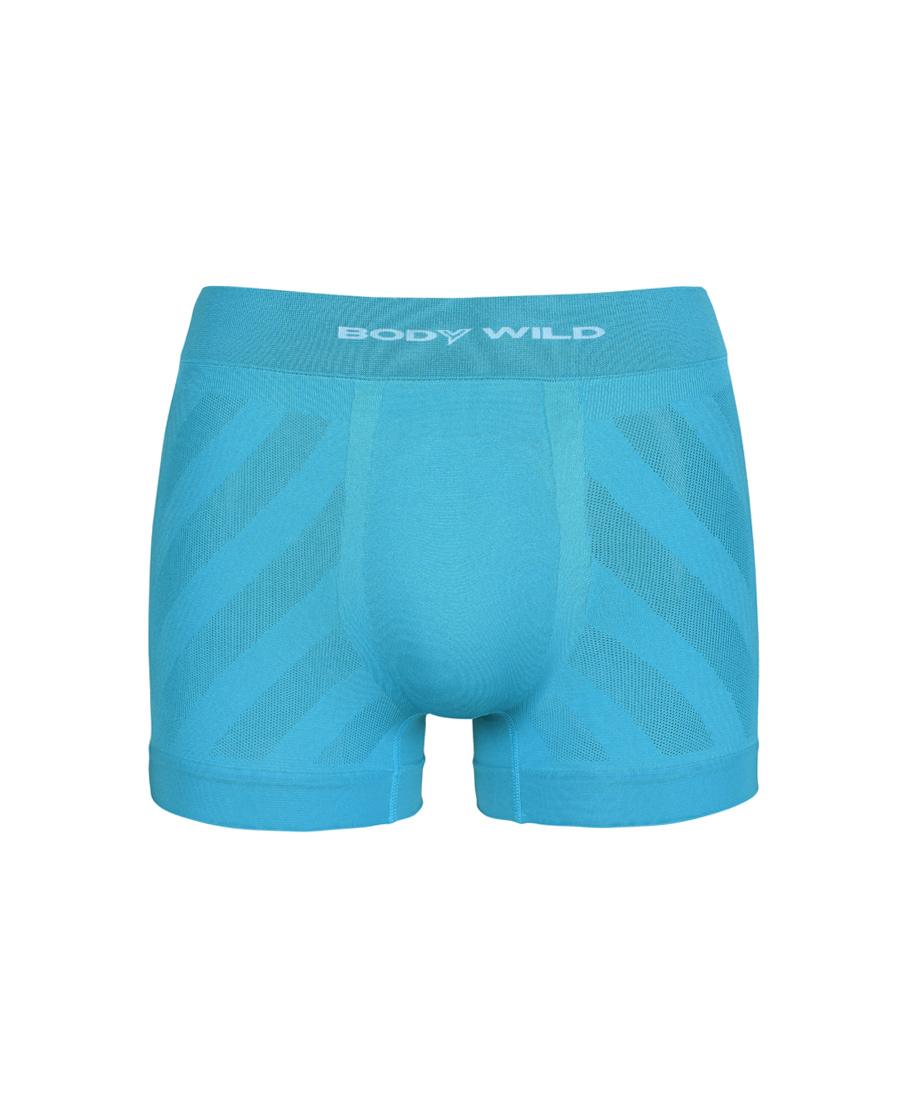 Body Wild內褲|寶迪威德運動一體織中腰平角內褲ZBN23