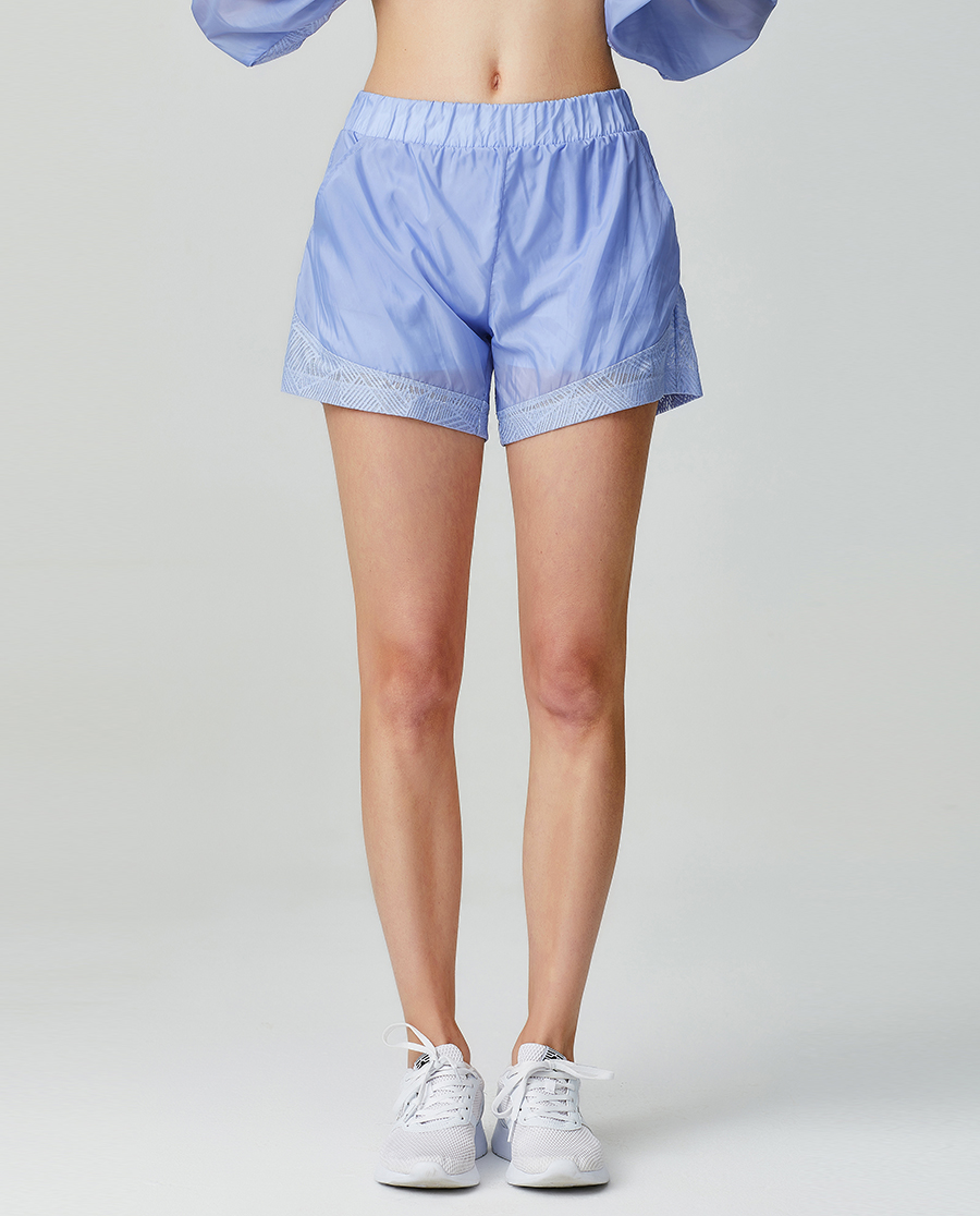 Aimer Sports运动装|爱慕运动轻松瑜伽短裤两件套AS151G41