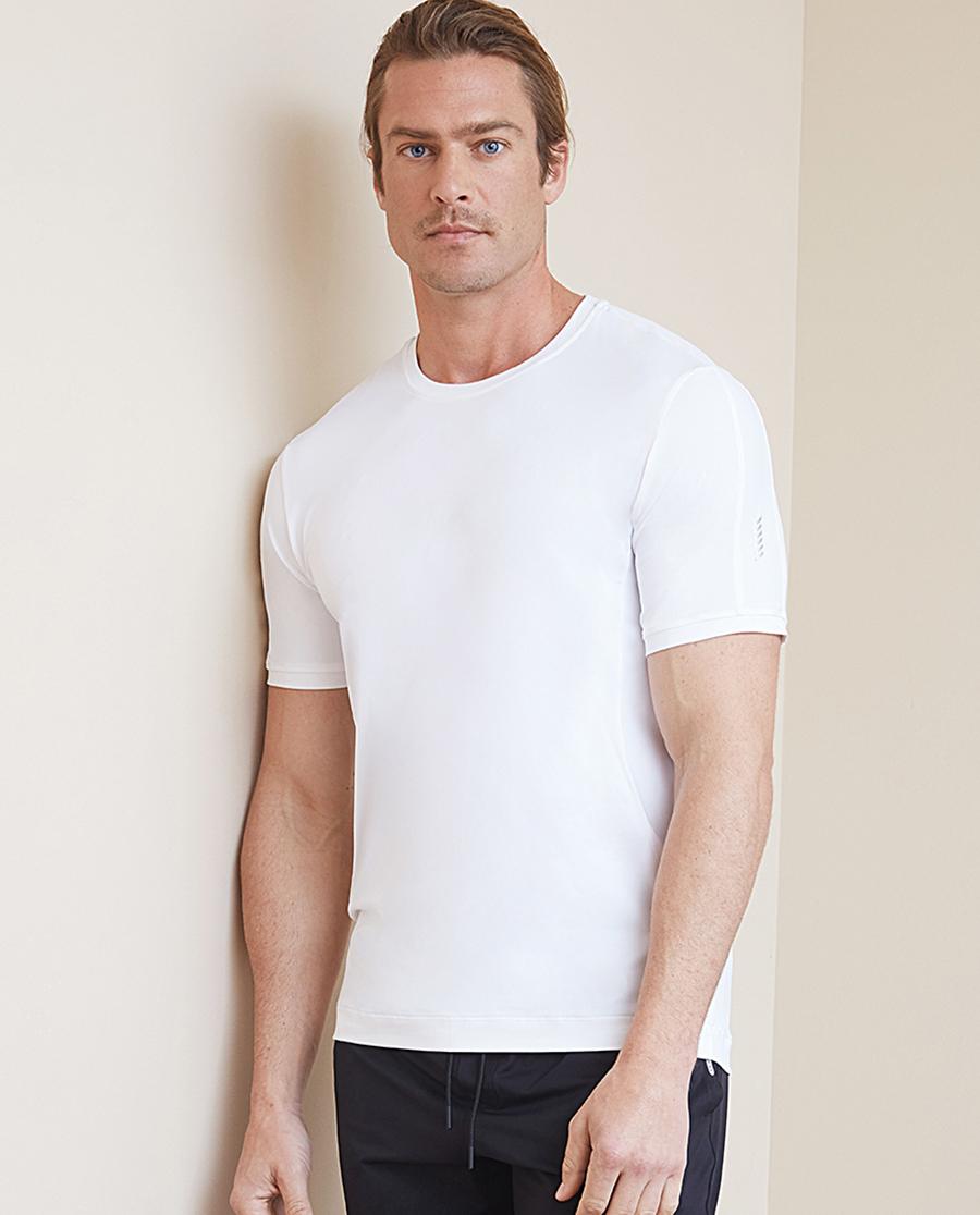 Aimer Men运动装|爱慕先生酷感运动圆领短袖上衣NS62B721