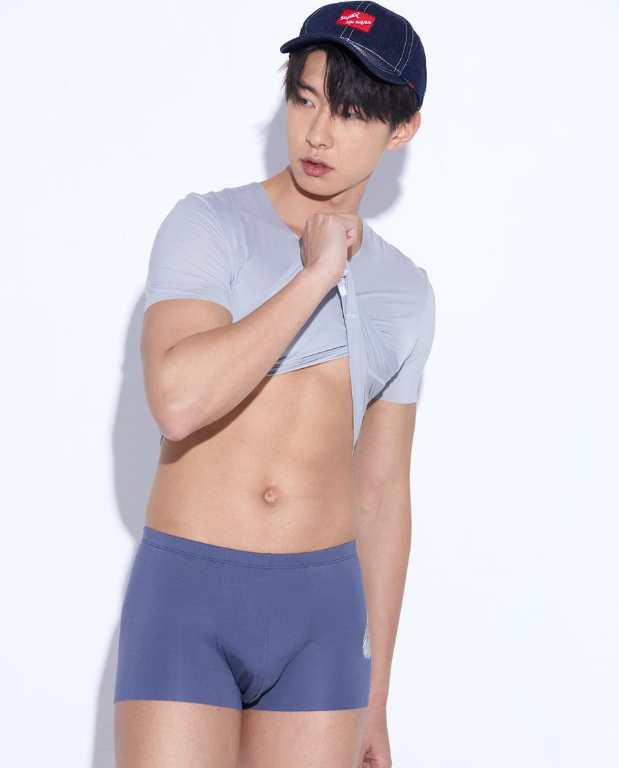 Body Wild內褲|寶迪威德鉆飾精奧中腰平角內褲ZBN23M
