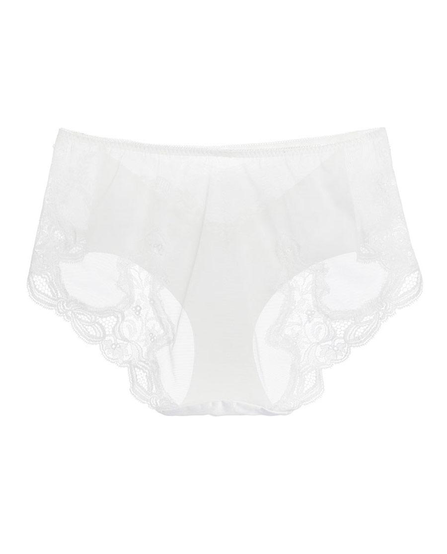 La Clover内裤|LA CLOVER19SS挚爱WHITE系列中腰平角内裤LC23HG1