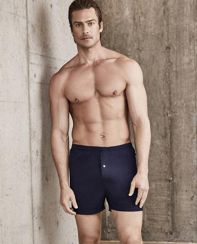 Aimer Men内裤|爱慕先生单品包腰四角裤NS23B641