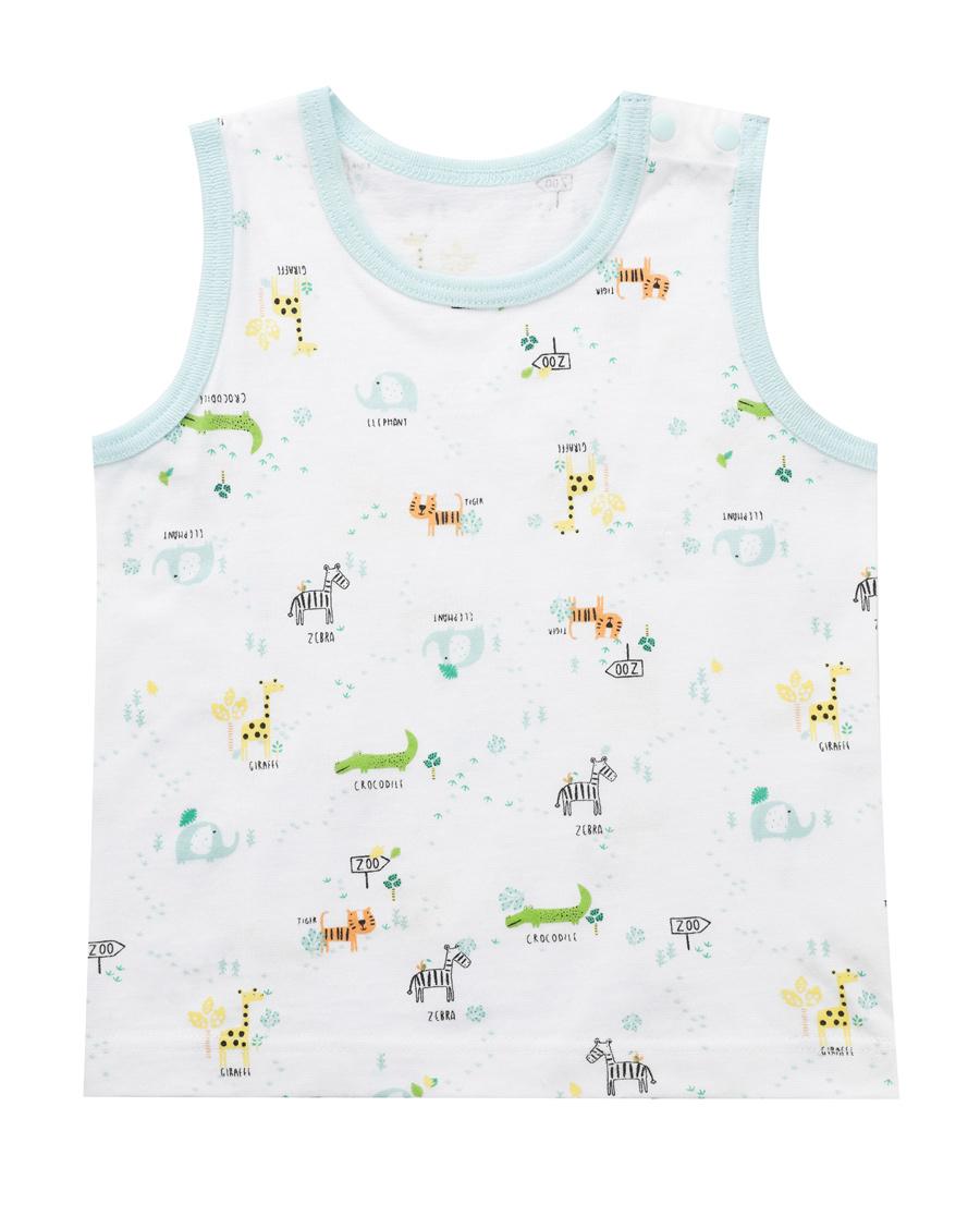Aimer Baby睡衣 爱慕婴幼动物园背心AB2111081
