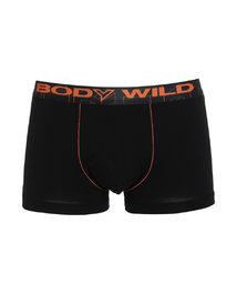 宝迪威德炫色棉氨撞色中腰平角内裤两件包ZBN23NJ1