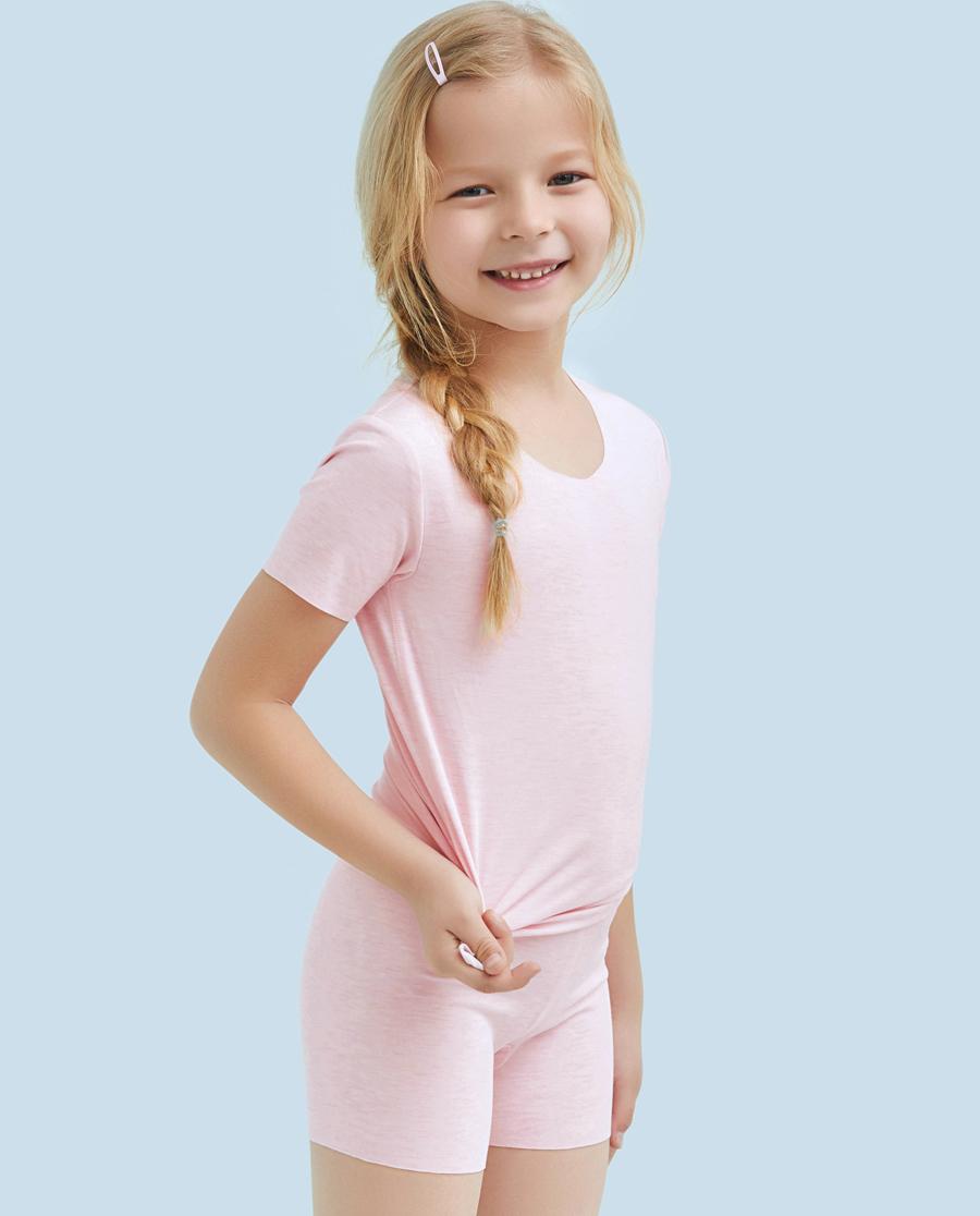 Aimer Kids内裤|ag真人平台儿童品质中腰四角安全裤AK1241141