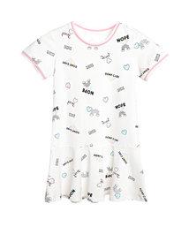 爱慕儿童高街女孩短袖连衣裙AK1831441
