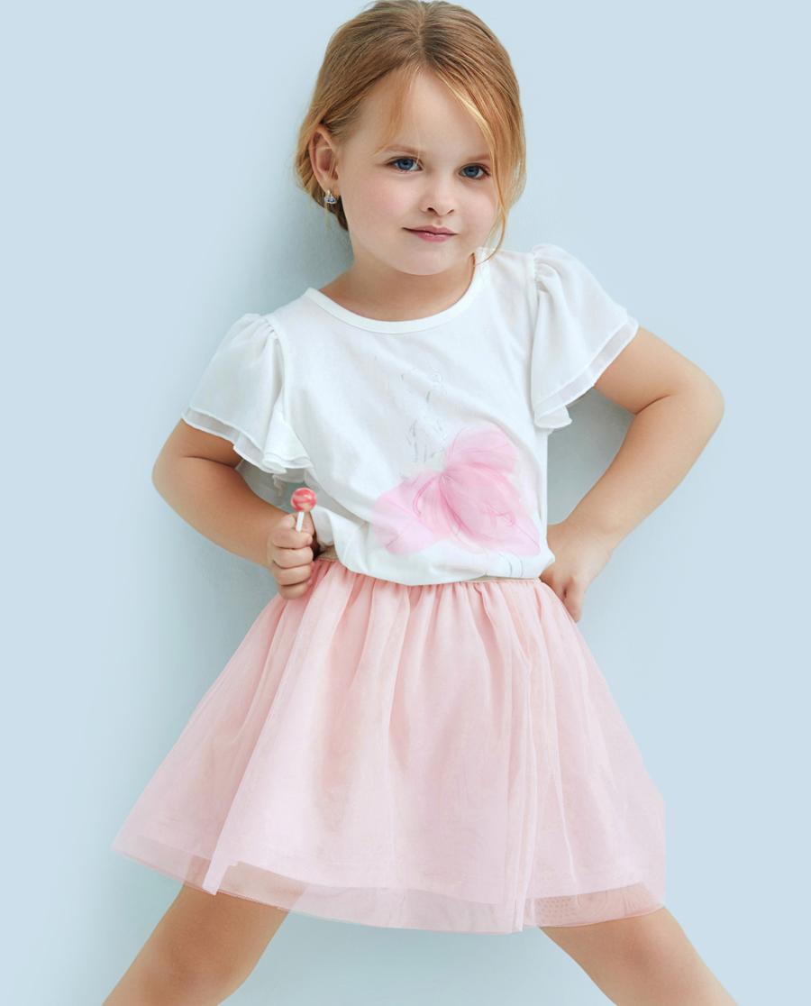 Aimer Kids睡衣|爱慕儿童芭蕾梦女童短纱裙AK1831421