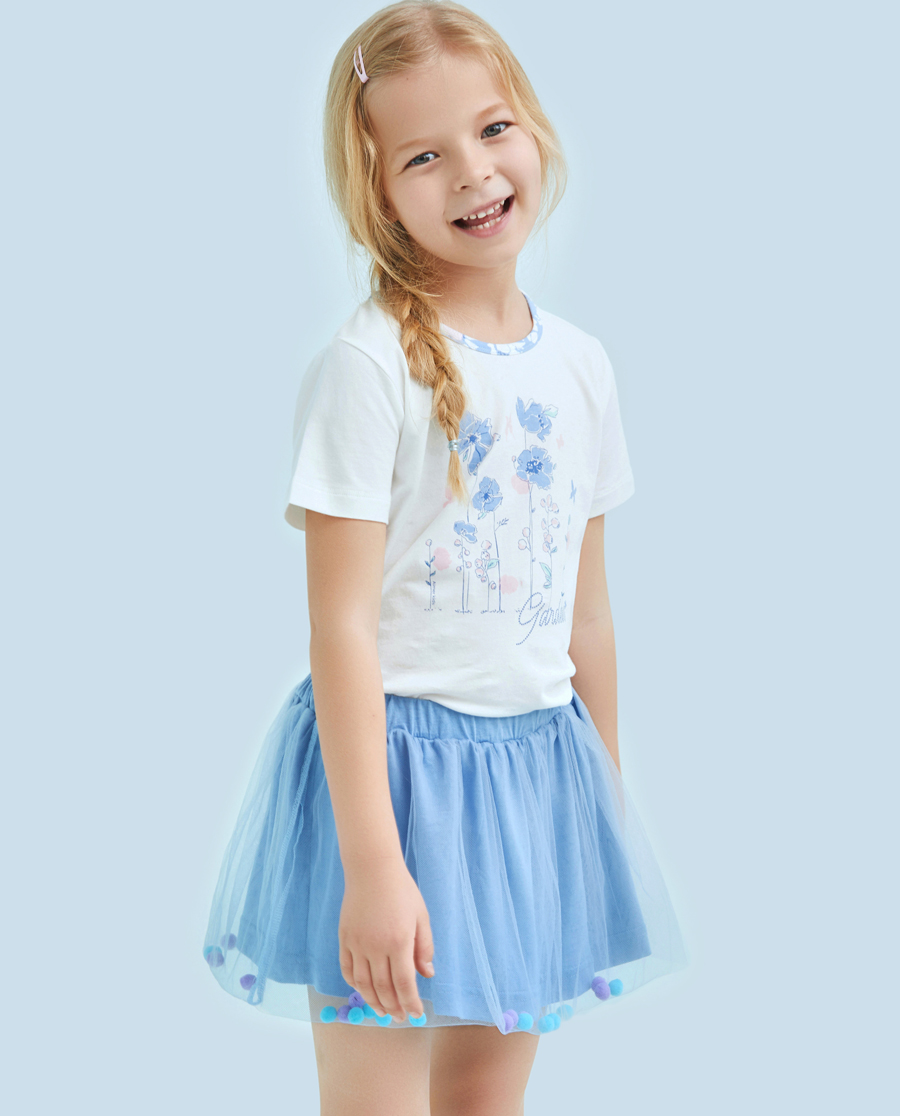 Aimer Kids泳衣|爱慕儿童冰雪之梦女童短纱裙AK1831411