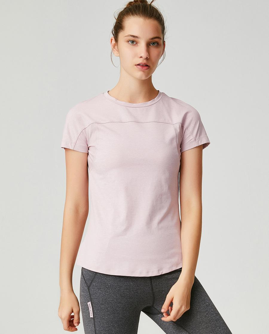Aimer Sports运动装|爱慕运动心灵瑜伽II短袖T恤AS143G51
