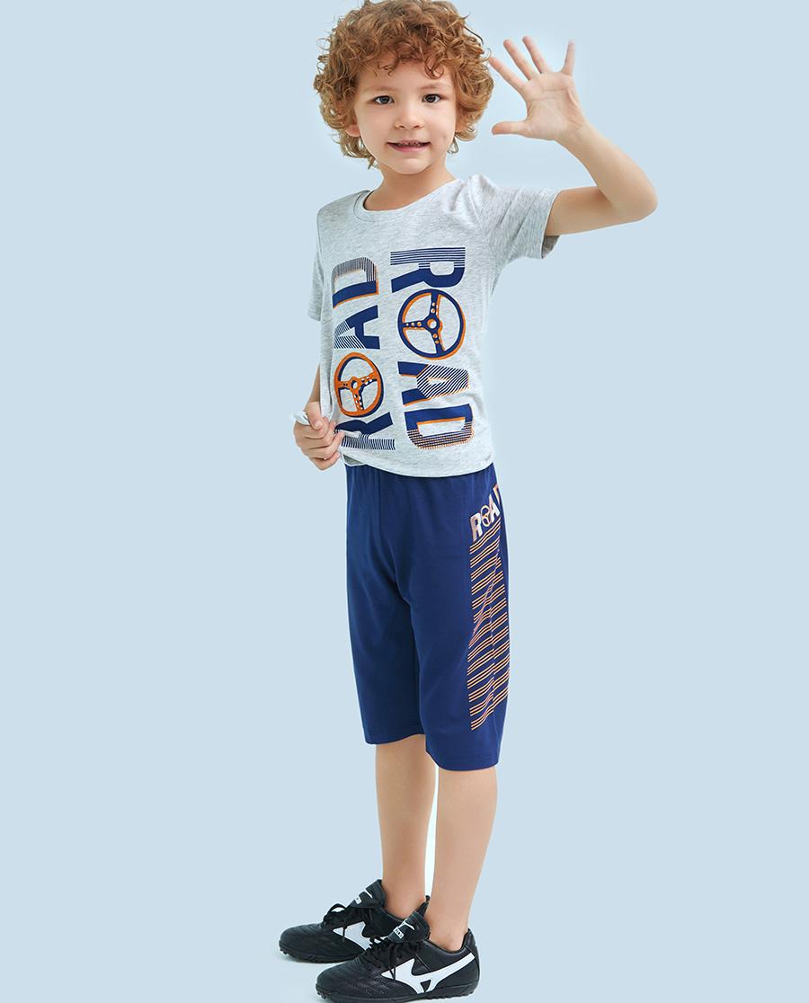 Aimer Kids睡衣|爱慕儿童欢乐驾驶七分裤AK2421291