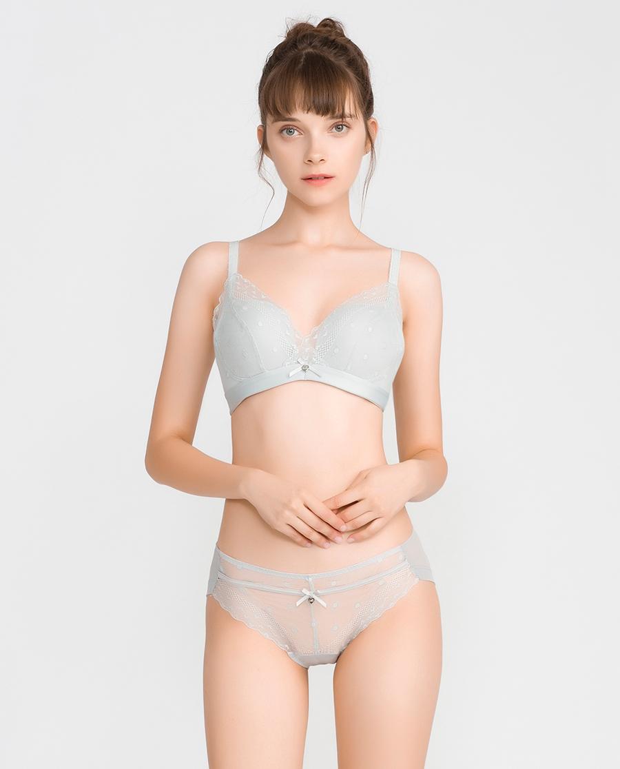 imi's内裤|爱美丽意趣波点低腰三角裤IM22ASJ1