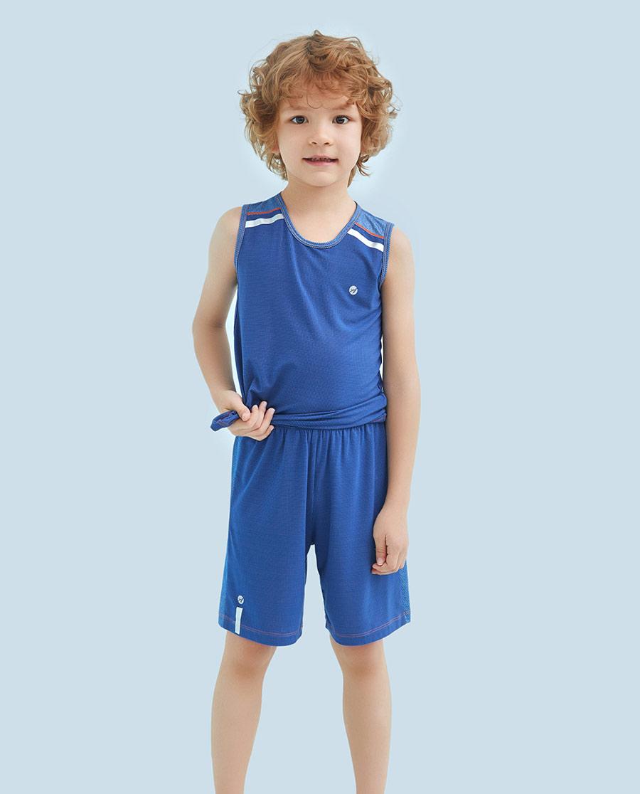 Aimer Kids睡衣|爱慕儿童嗨酷运动五分裤AK2821461