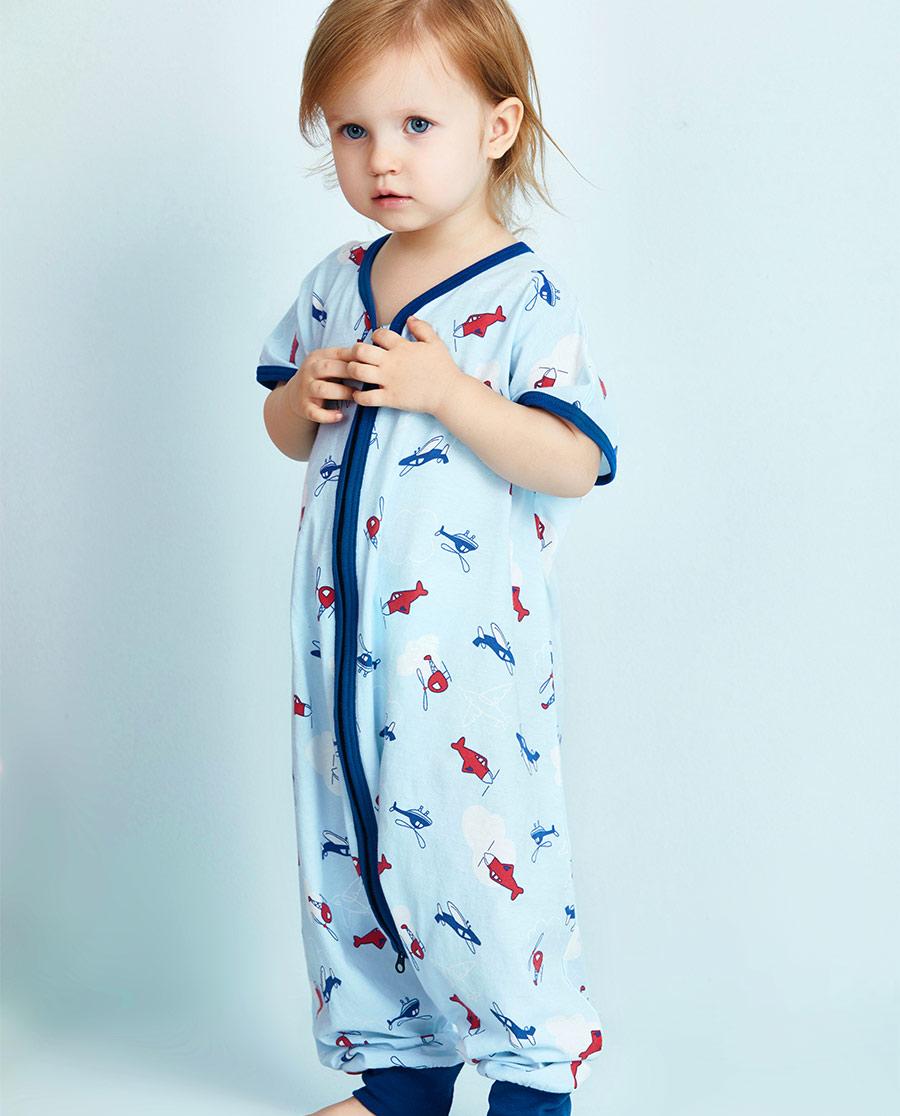 Aimer Baby睡衣|爱慕婴幼冲上云霄分腿睡袋AB2451061