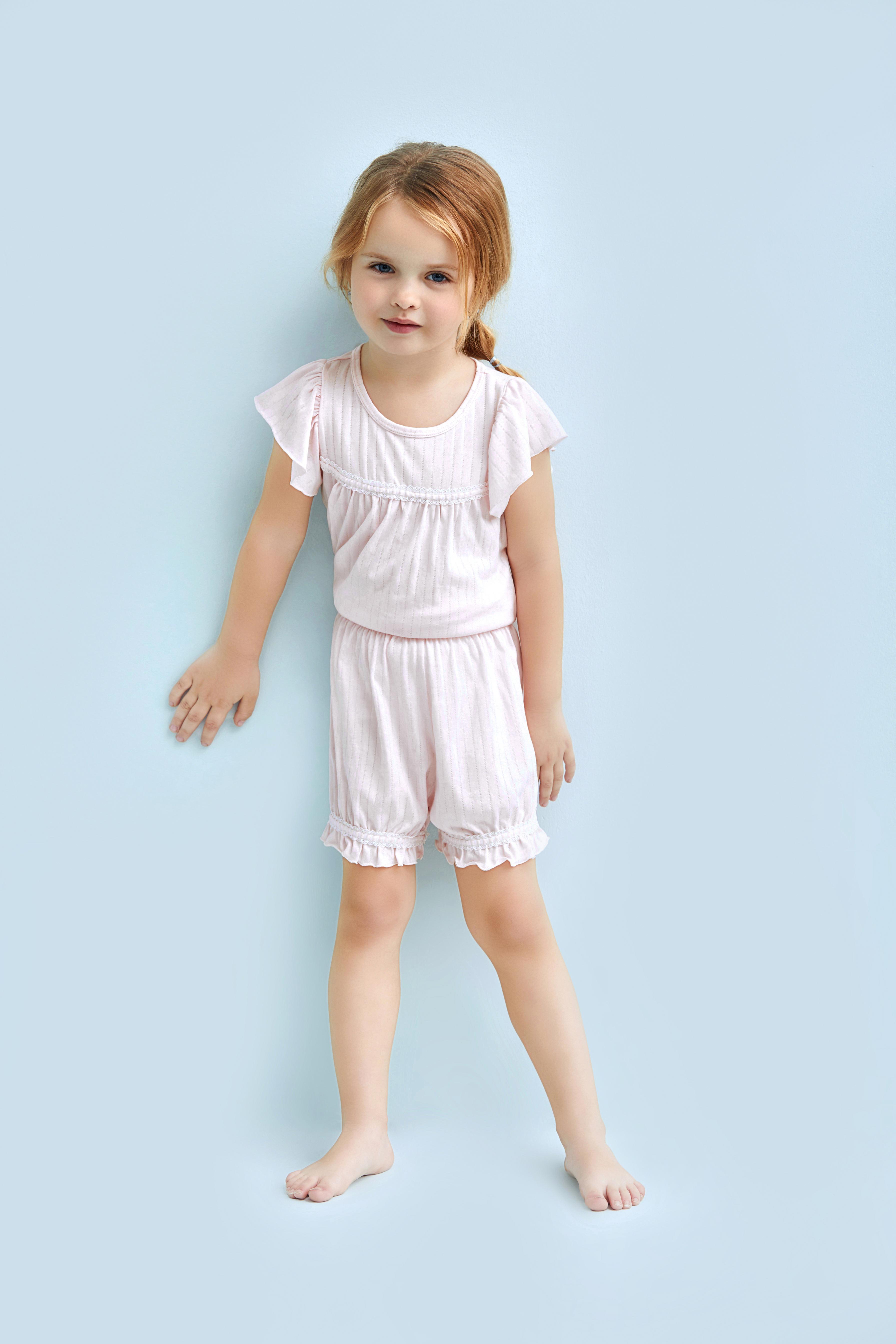 爱慕儿童蕾丝铃兰短裤AK1420801