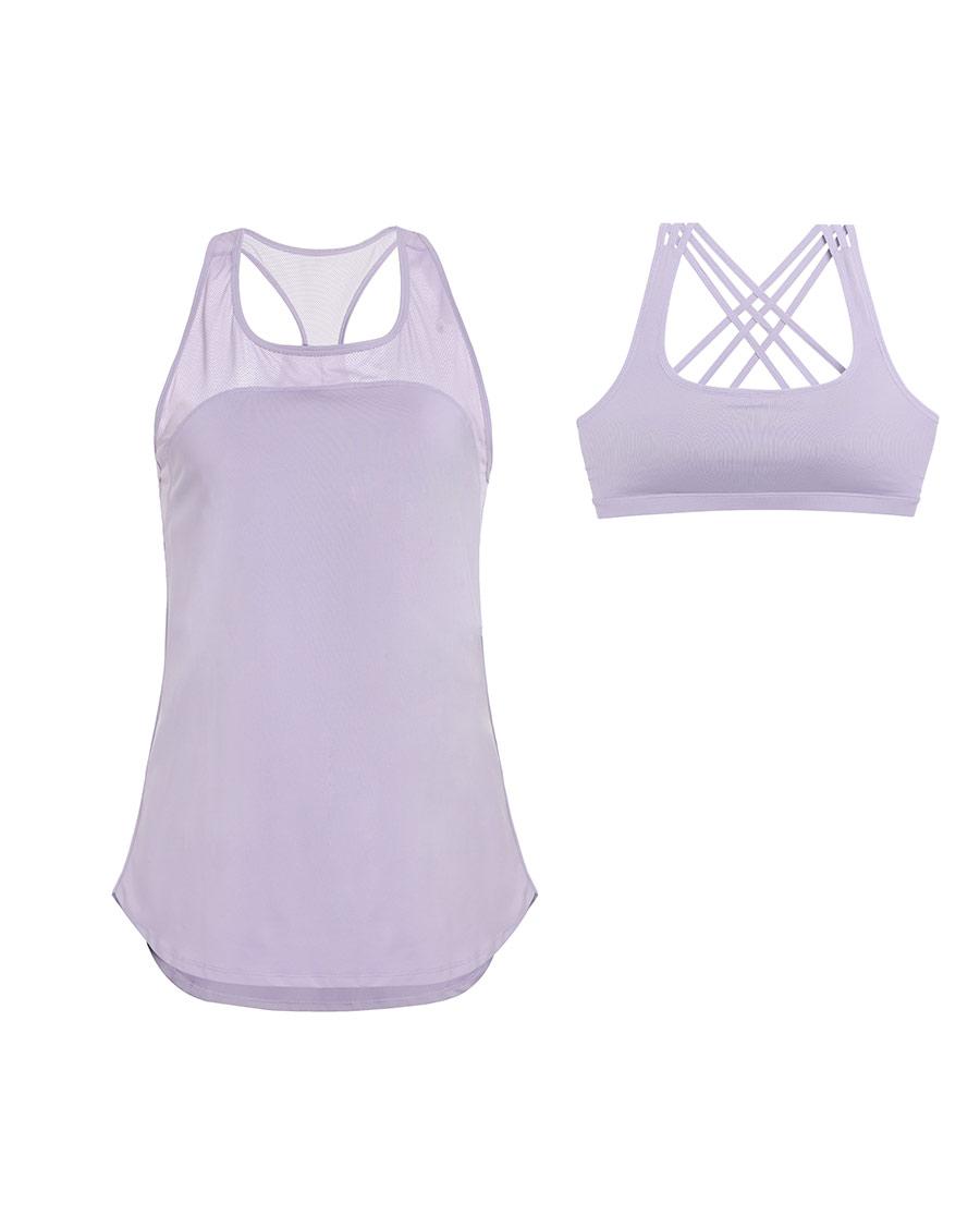 Aimer Sports運動裝|愛慕運動輕松瑜伽帶杯瑜伽背心AS141G