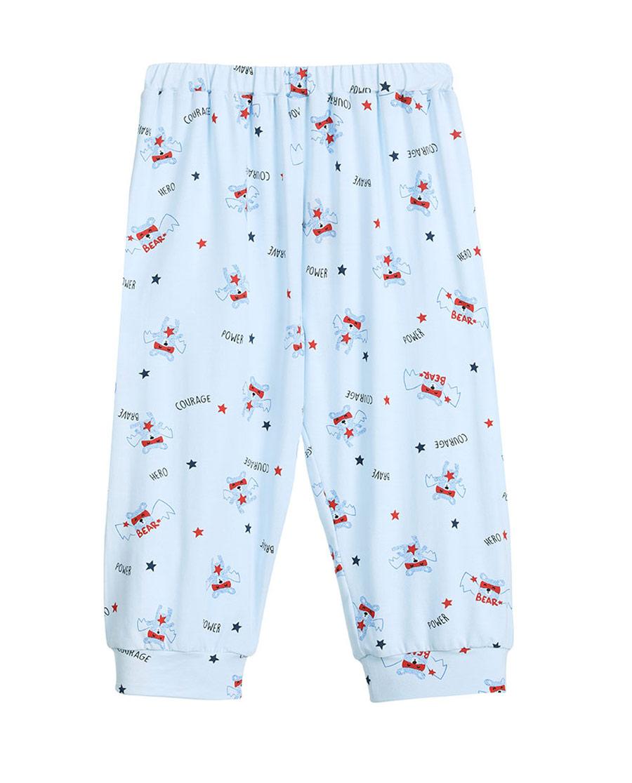 Aimer Kids睡衣|爱慕儿童慕尔熊七分裤AK2420902