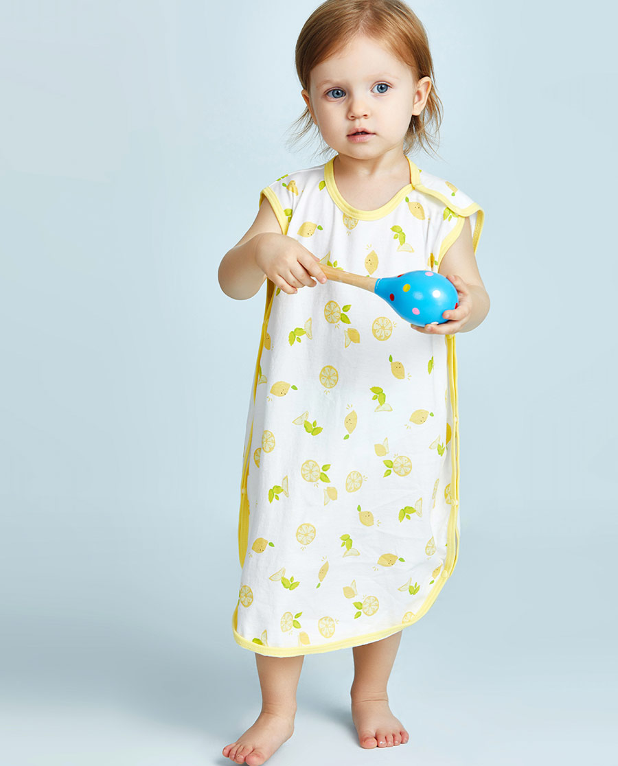 Aimer Baby睡衣|爱慕婴幼快乐柠檬女婴幼防踢睡袋AB1451052