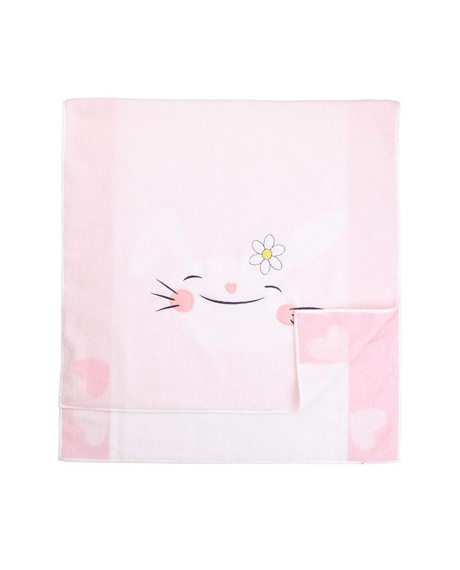 Aimer Kids配饰|爱慕儿童bunny bunny爱兔儿浴巾