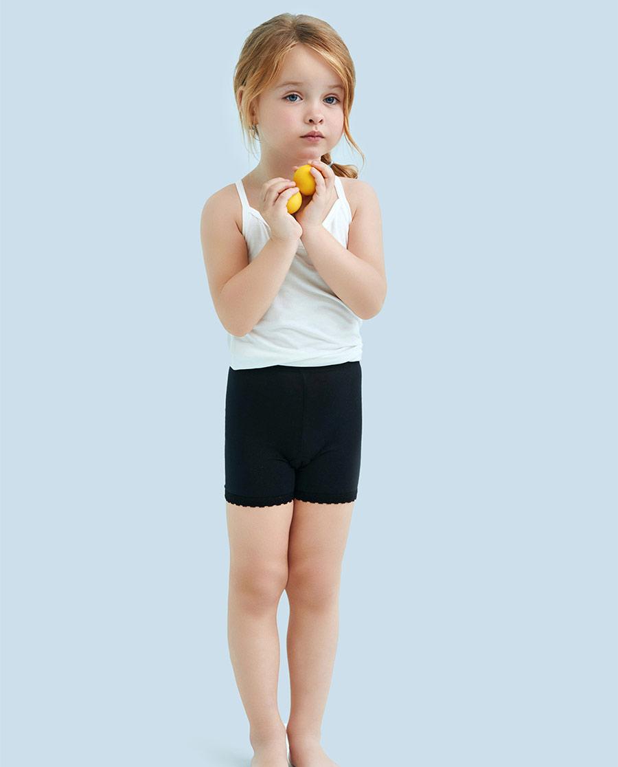 Aimer Kids内裤|爱慕儿童安全裤中腰四角裤AK124122