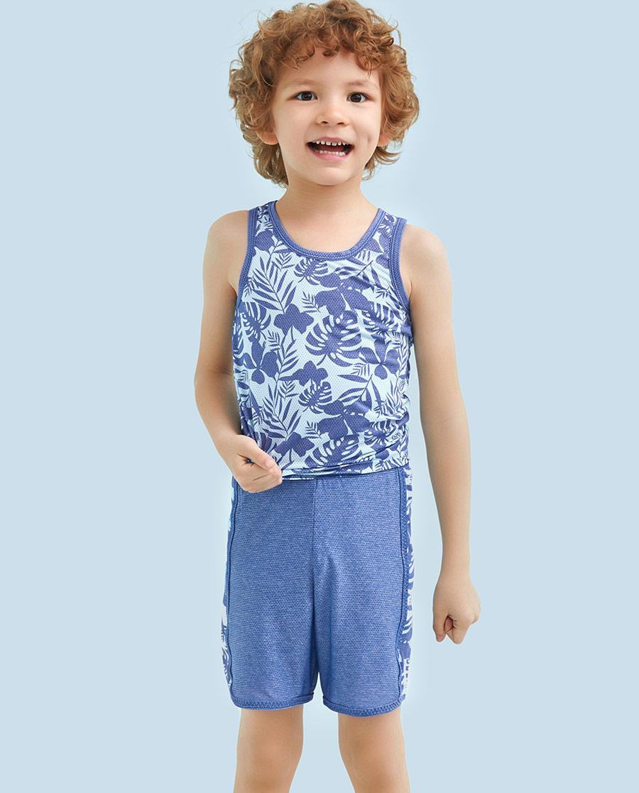 Aimer Kids睡衣|愛慕兒童熱帶風情五分褲AK2821471
