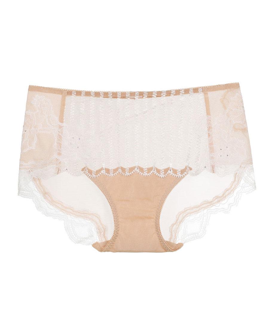La Clover內褲|LA CLOVER愛鏈系列中腰平角褲LC
