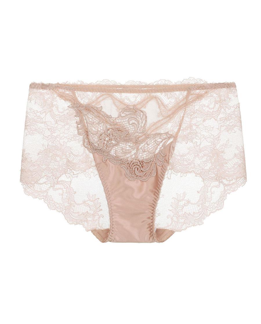 La Clover内裤|LA CLOVER羽翼系列中腰平角内裤L