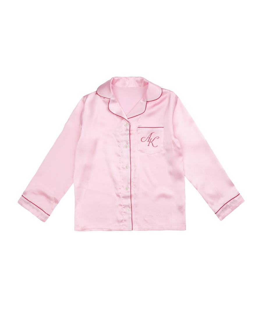 Aimer Kids睡衣|愛慕兒童素雅真絲開衫上衣AK141168