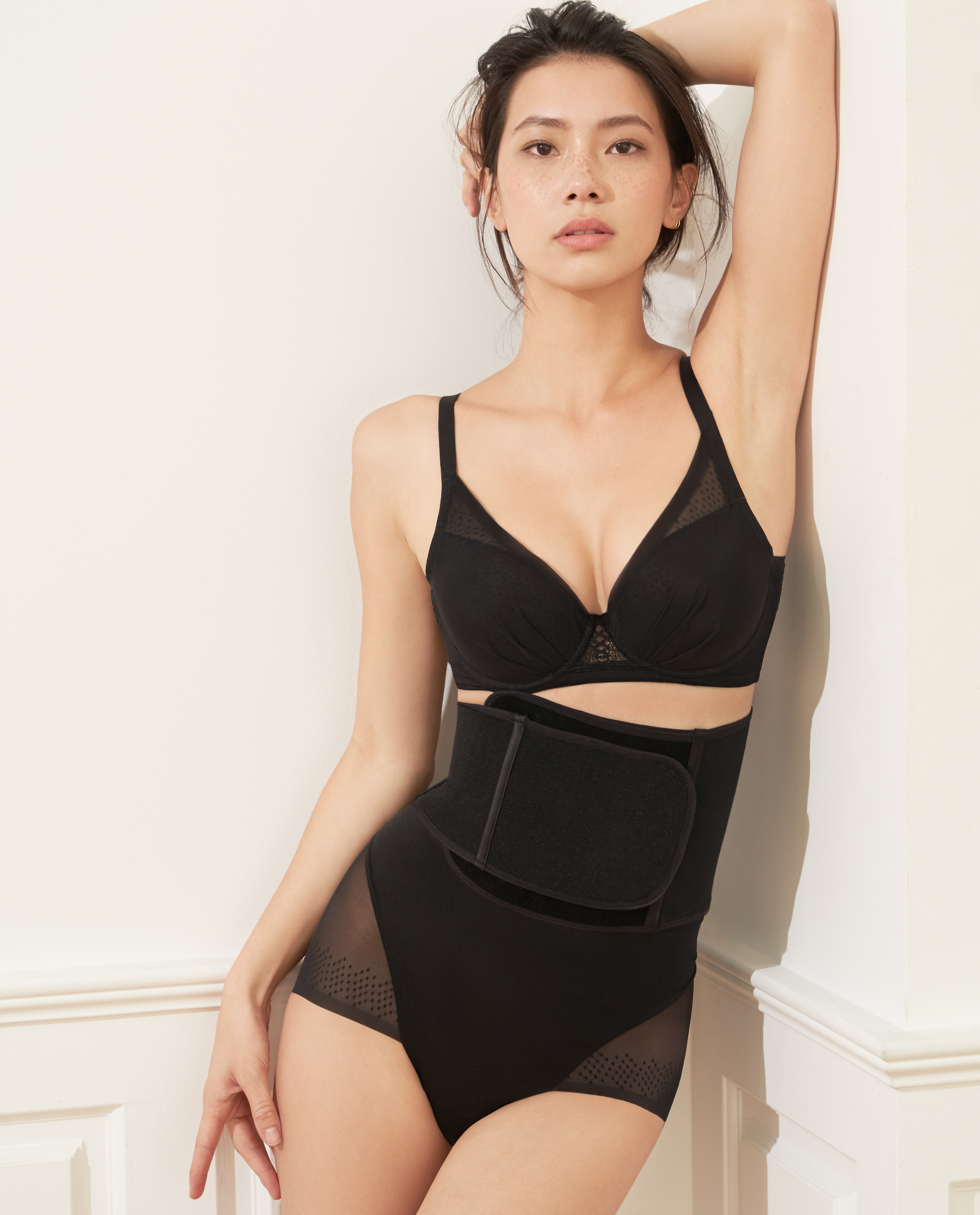 MODELAB美体|爱慕慕澜夏日之约轻型中腰平角塑裤AD33