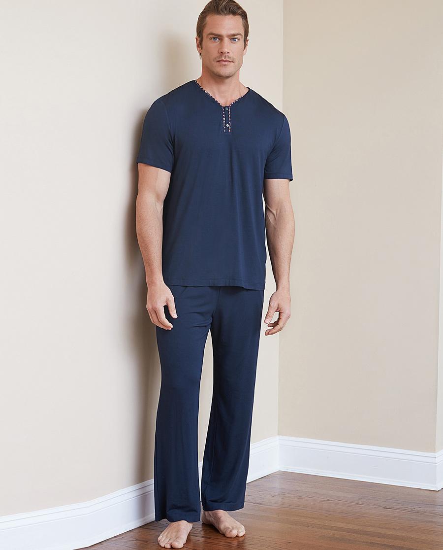 Aimer Men睡衣|爱慕先生19SS温馨家人系列套装NS43