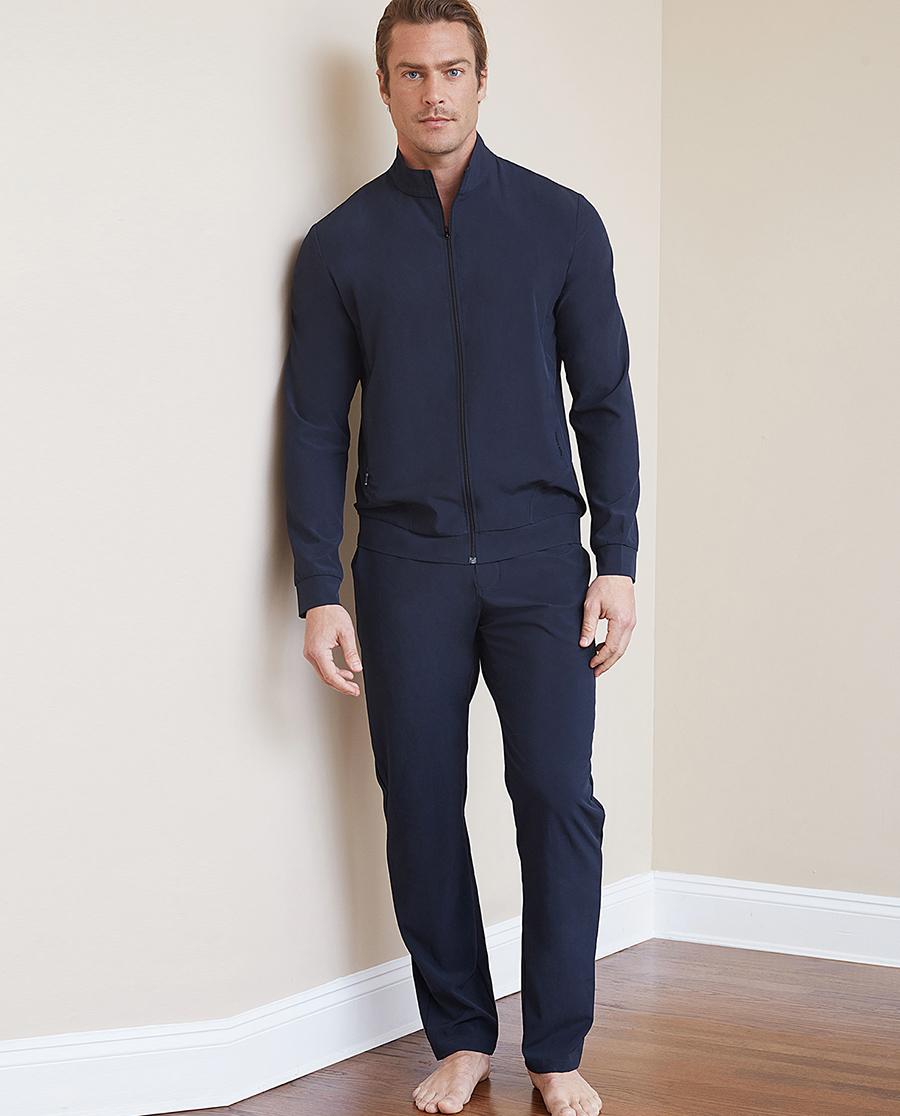 Aimer Men睡衣|ag真人平台先生轻休闲系列长裤NS82B771