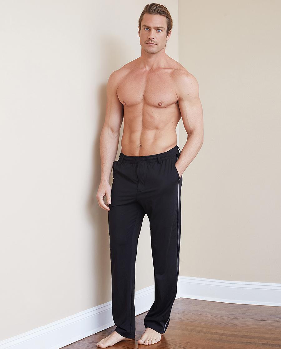 Aimer Men睡衣 ag真人平台先生休闲百搭裤系列长裤NS82B961