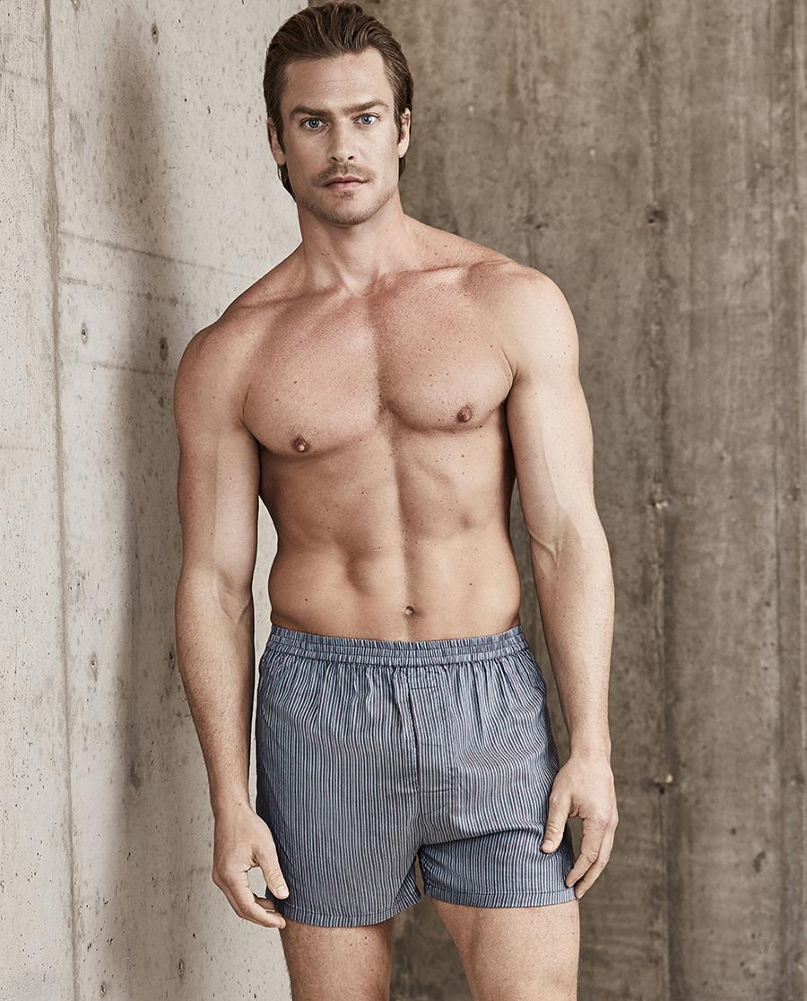 Aimer Men内裤|爱慕先生包腰四角裤NS24B671