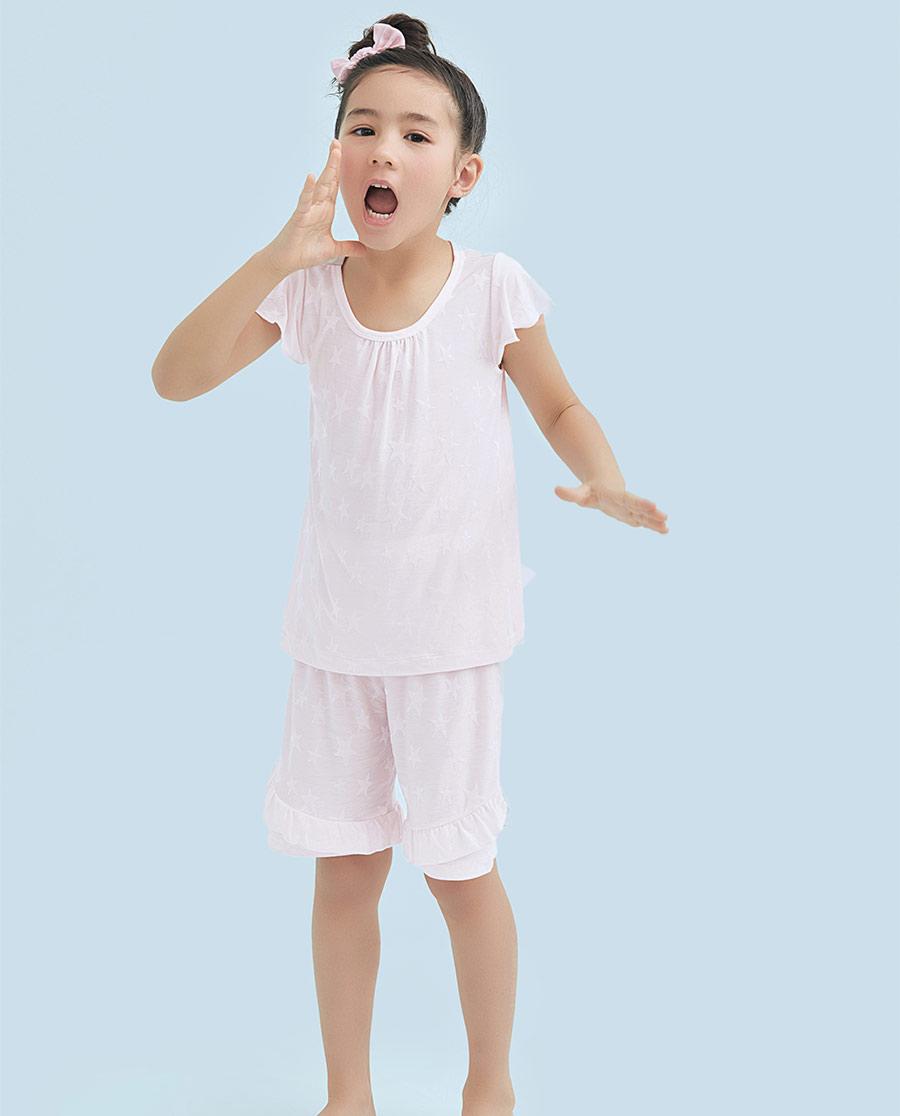 Aimer Kids睡衣|愛慕兒童純愛星空短袖中褲家居套裝AK14