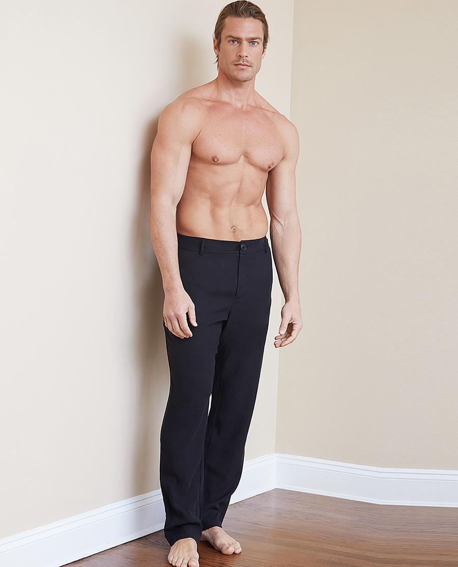 Aimer Men睡衣|ag真人平台先生商务百搭裤系列长裤NS82B811