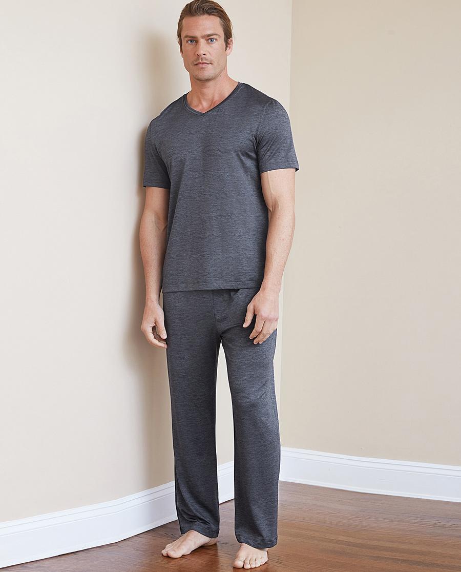 Aimer Men睡衣|【两件75折】爱慕先生运动家居长裤NS4