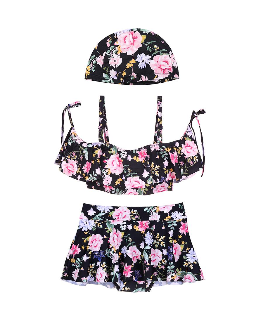 imi's泳衣|爱美丽泳衣芳香制造者无托抹胸比基尼两件套