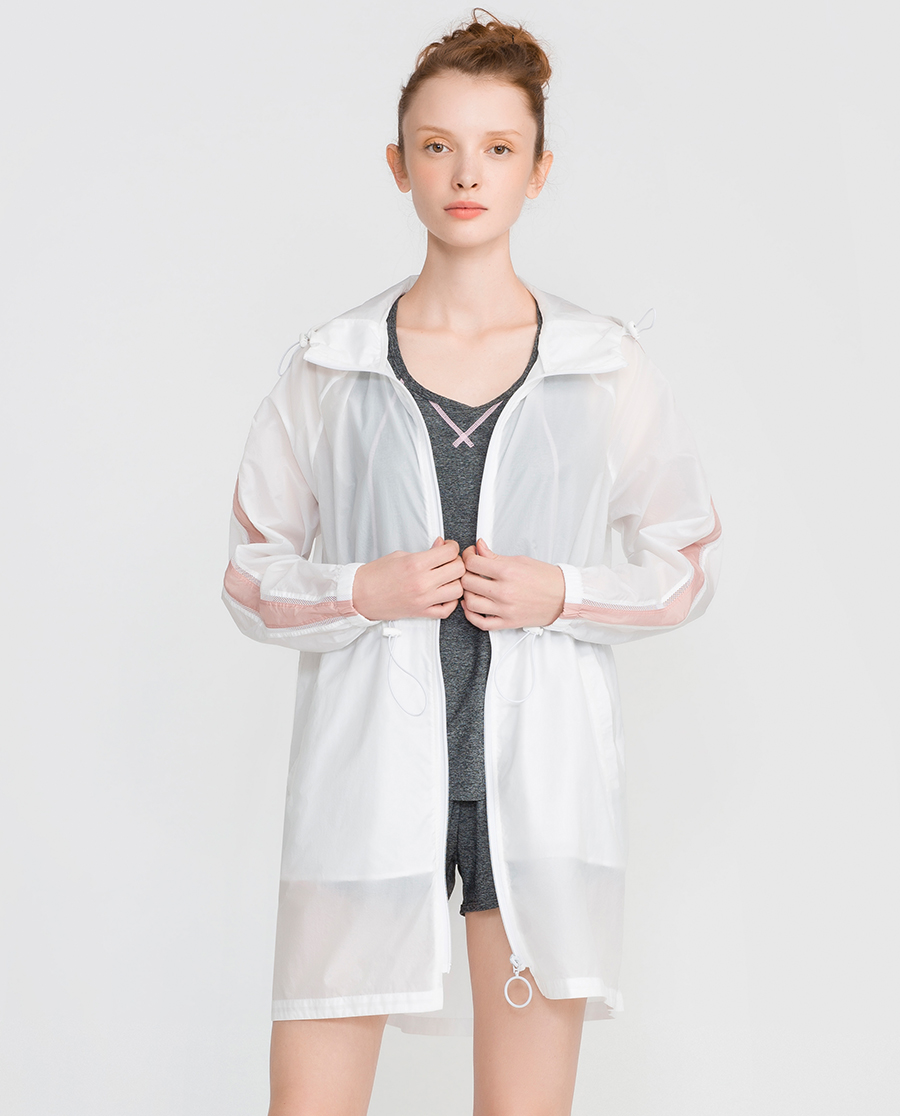 IMIS运动装|爱美丽运动舒享时光拉链开衫长袖上衣IM63CMJ1