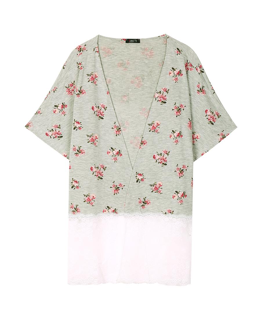 imi's睡衣|愛美麗家居愛的目的地莫代爾開衫睡袍IM4