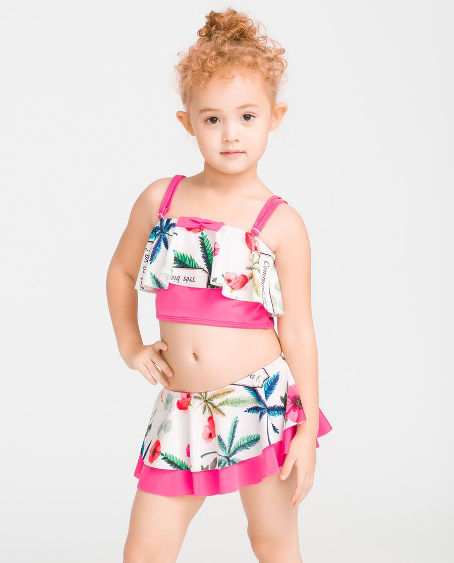 imi's泳衣|爱美丽泳衣迷失布拉格女童分身两件套泳衣IM67BMW2