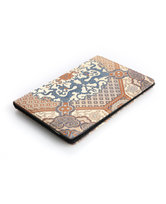 皇锦织锦加皮护照夹-夔龙八大运HJ33431